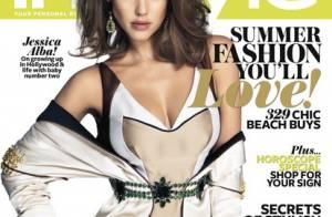 Jessica Alba : Sirène sur la plage, elle joue l'amoureuse sportive