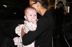 Jessica Alba : De retour à L.A., sa petite fille Haven lui vole la vedette