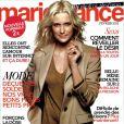 La couverture du magazine Marie France du mois de février 2012