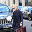Meryl Streep à Paris le 6 janvier 2012