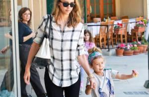 Jessica Alba : Sa fille aînée est un ange à la bouille craquante