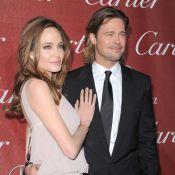 Brad Pitt blessé et Angelina Jolie face à George Clooney et Stacy Keibler