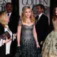 Madonna aux Golden Globes à Los Angeles, le 15 janvier 2012.