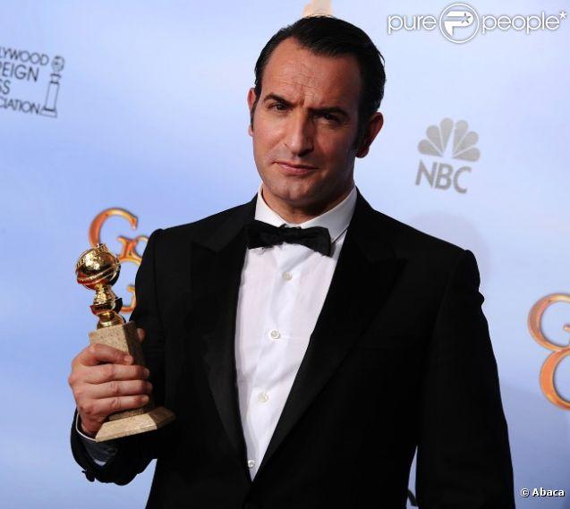 Jean dujardin meilleur acteur pour the artist aux golden for Dujardin 94