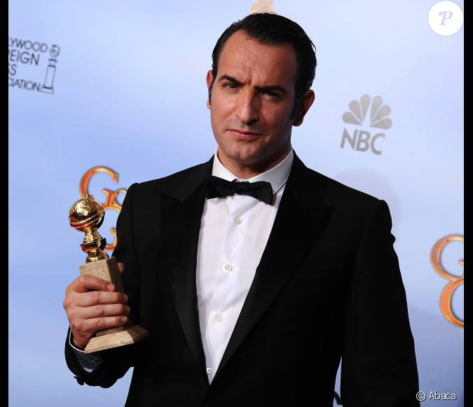 Jean dujardin meilleur acteur pour the artist aux golden for Dujardin acteur