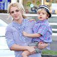 Britney Spears et son fils Jayden James en novembre 2010