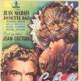 L'affiche du film La Belle et la Bête de Jean Cocteau