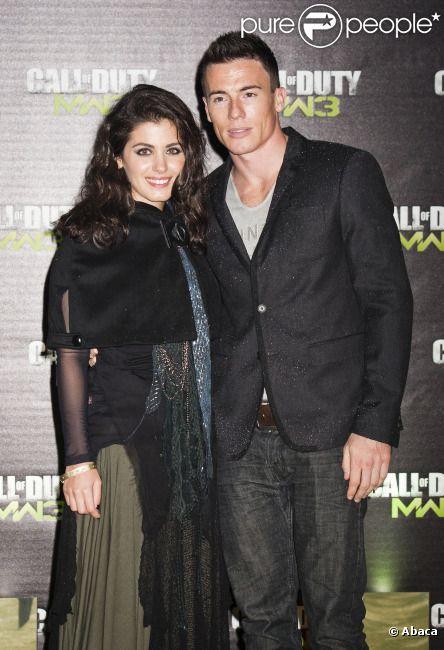 Katie Melua et James Toseland le 7 novembre 2011 à Londres