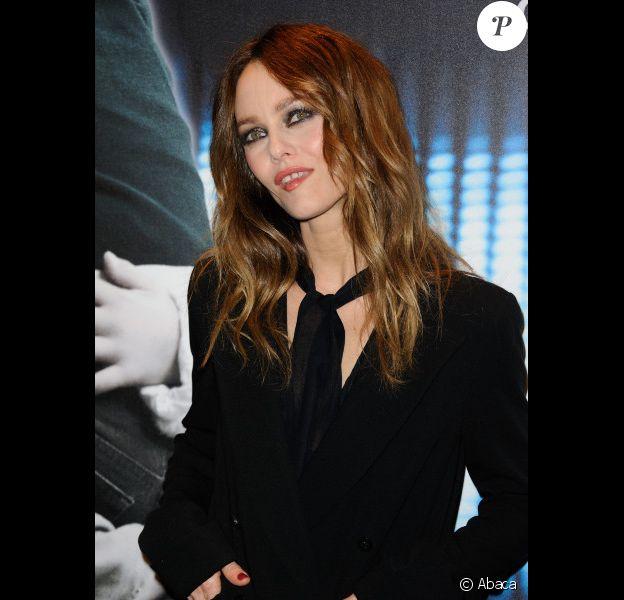 Vanessa Paradis à l'avant-première de Café de Flore, à Paris le 23 janvier 2012.