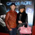 Jean-Marc Barr accompagné à l'avant-première de Café de Flore, à Paris le 23 janvier 2012.