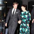 Drew Barrymore et son fiancé Will Kopelman à Washington le 25 janvier 2012.