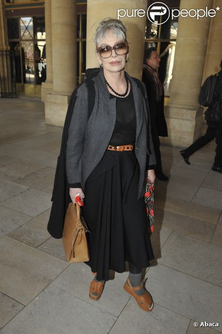 Marie Laforêt en mars 2009