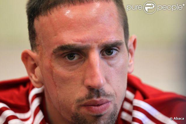 Franck Ribéry le 5 janvier 2012 à Doha