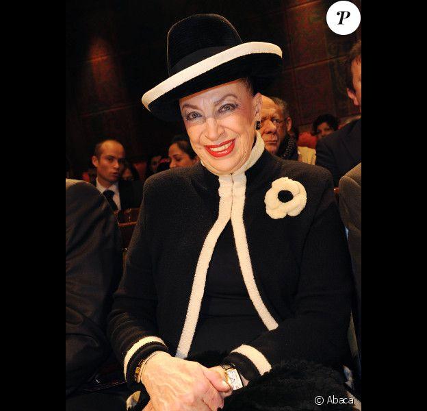 Geneviève de Fontenay, en janvier 2012 à Paris.