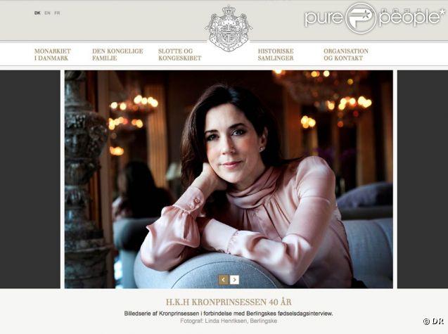 Pour les 40 ans de la princesse Mary de Danemark le 5 février 2012, la Maison royale a publié à cette occasion quatre nouveaux portraits officiels réalisés par la photographe Linda Henriksen.