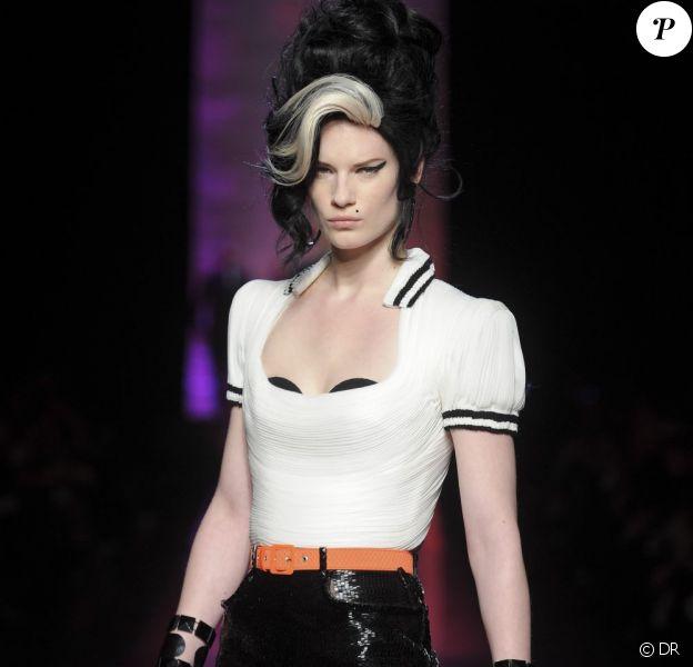 Les muses de Jean Paul Gaultier Hommage à Amy Winehouse