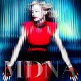Madonna - pochette de l'album  MDNA  version simple - attendu le 26 mars 2012.