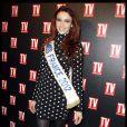 Delphine Wespiser lors des 25 ans de TV Magazine au Plaza Athenée le 8 février 2012 à Paris
