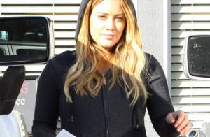Hilary Duff : Accouchement imminent, mais pas question de se laisser aller