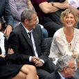 Michèle Laroque avec Jean Claude darmon et sa compagne Hoda