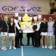 L'Open GDF Suez fête ses 20 ans le 12 février 2012 à Coubertin avec Martina Hingis et Martina Navratilova, Monica Seles et Amélie Mauresmo
