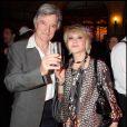 Sophie Darel et son compagnon Jack Anaclet, en octobre 2008 à Paris