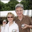 Sophie Darel et Jack Anaclet, en juin 2006 à Paris