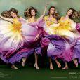 Gisele Bündchen se mue en objet d'art pour la nouvelle campagne printemps-été 2012 de sa collection de sandales Ipanema.