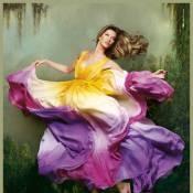 Gisele Bündchen : danseuse proche de la nature, elle devient un objet d'art