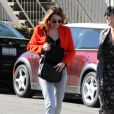 Miley Cyrus a opté pour un nouveau look dans les rues de Los Angeles, le 16 février 2012