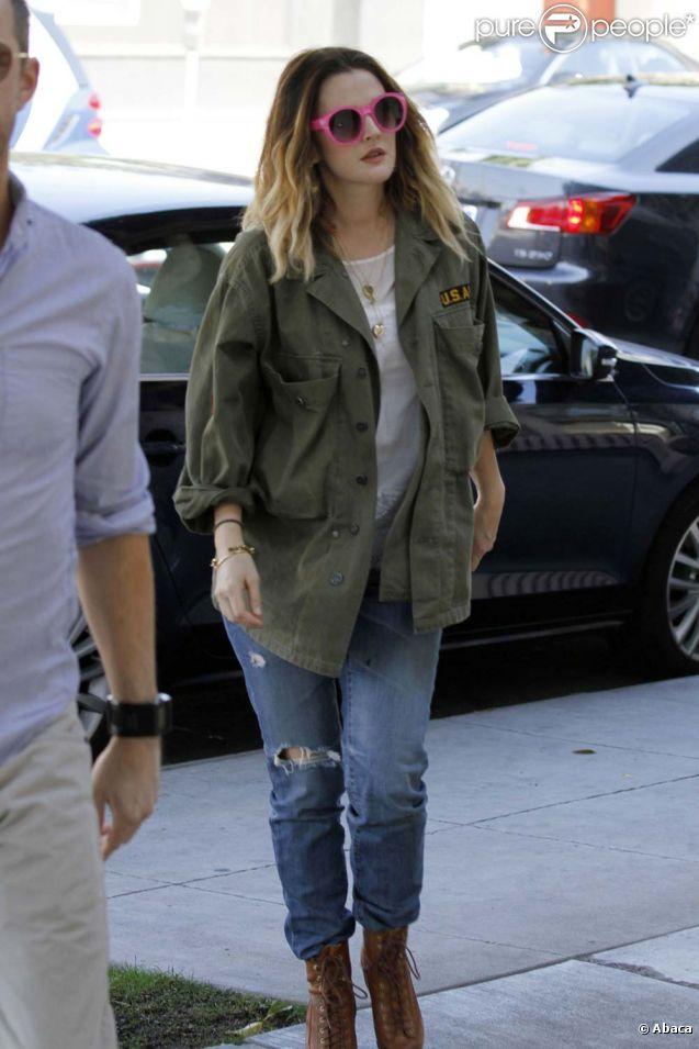 Drew Barrymore à Los Angeles, le 1er février 2012.