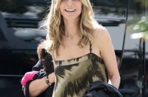 Heidi Klum : Resplendissante, elle retrouve le sourire entourée de ses enfants