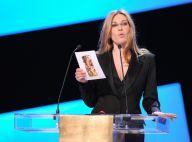 César 2012 : Mathilde Seigner s'est excusée pour calmer les attaques violentes