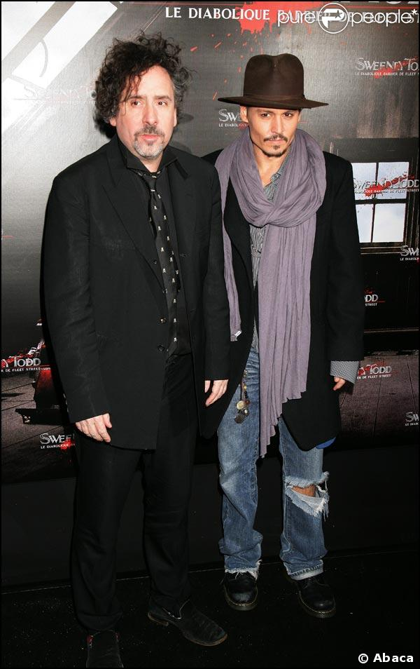 Tim Burton et Johnny Depp