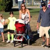 Charlie Sheen et Denise Richards réunis par leur fille Sam et son amour du foot