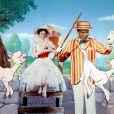 Dick Van Dyke et Julie Andrews dans Mary Poppins (1964)