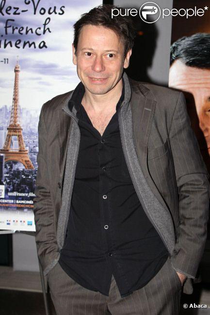 Mathieu Amalric en mars 2012 à New York