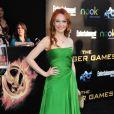 Jacqueline Emerson lors de l'avant-première du film Hunger Games le 12 mars 2012 au Nokia Theatre L.A Live de Los Angeles