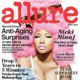 Nicki Minaj en couverture de Allure - avril 2012