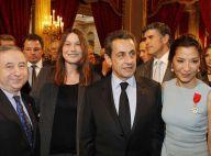 Nicolas Sarkozy et Carla Bruni : Que de beau monde pour passer la soirée !