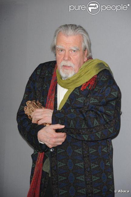 Michael Lonsdale, en février 2011 à Paris.