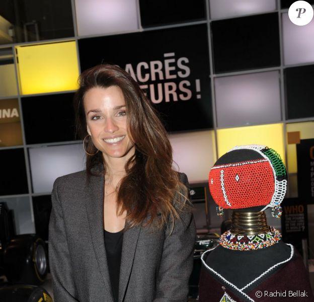 Céline Bosquet lors du dîner de gala de la Coupe de l'info jeudi 15 mars à L'Atelier Renault à Paris