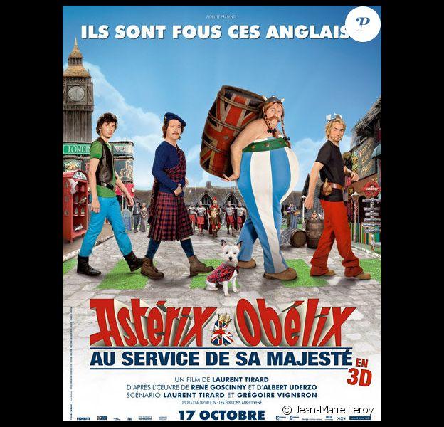 L'affiche d'Astérix et Obélix : Au service de sa Majesté, en salles le 17 octobre.