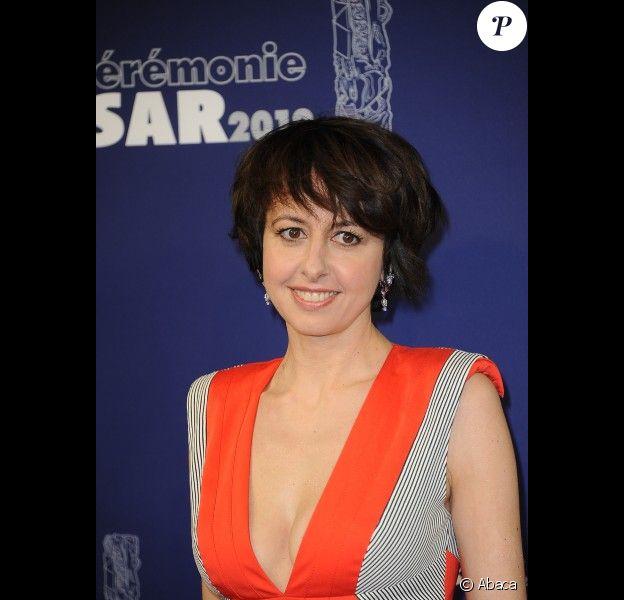 Valérie Bonneton lors des César, le 24 février 2012 à Paris