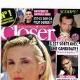 Le magazine  Closer  en kiosques ce samedi 24 mars 2012.