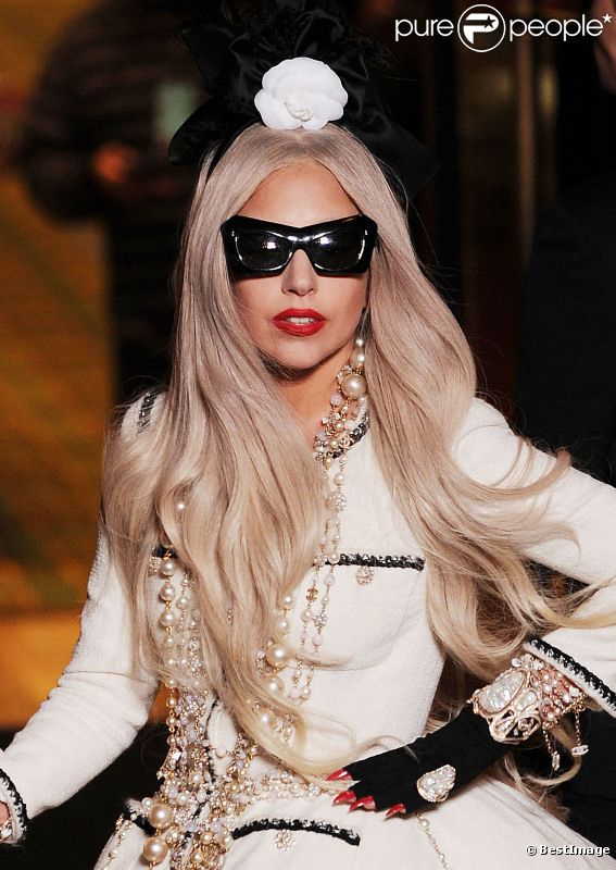 Lady Gaga en novembre 2011 à New York
