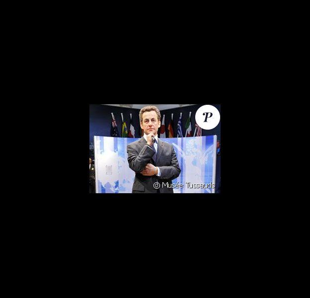Nicolas Sarkozy dans le très prestigieux musée Tussauds de Londres