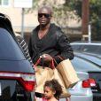 Sortie en famille pour Seal et ses enfants, mais sans Heidi Klum. Los Angeles, le 30 mars 2012.