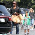 Seal profite seul de ses enfants lors d'une après-midi shopping. Los Angeles, le 30 mars 2012.