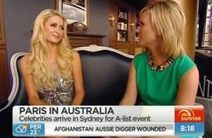 Paris Hilton, blessée par la question d'une journaliste avant de faire la fête